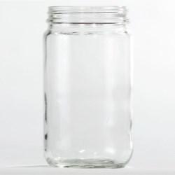4 oz Glass Jar, Round, Amber, 58-400