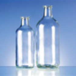250 cc Glass Type 1 Vial, Round, Flint, 30-2710