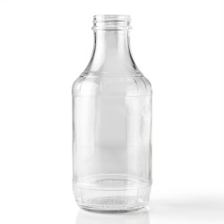 16 oz Glass Carafe/Decanter, Round, Clear, 38-405