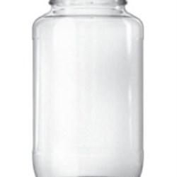 24.45 oz Glass Jar, Round, Flint, 63-2030
