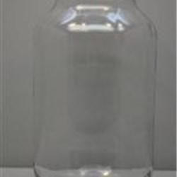 40 oz Glass Jar, Round, Flint, 70-450