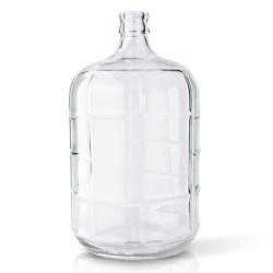 3 gal Glass Carboy, Round, Flint, 30mm Cork finish
