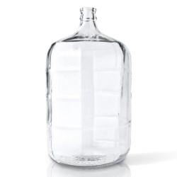 5 gal Glass Carboy, Round, Flint, 30mm Cork finish