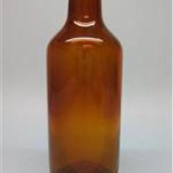 250 ml Glass Type 3 Vial, Round, Flint, 30-2710 Long Neck Open End
