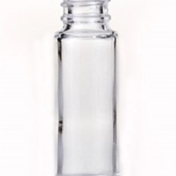 9 ml Glass Cylinder, Round, Flint, 13-415