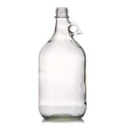 2.5 ltr Glass Handleware, Round, Amber, 38-434