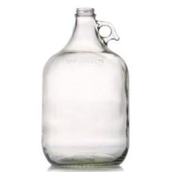 1 gal Glass Handleware, Round, Flint, 38-400