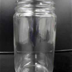32 oz Glass Jar, Round, Flint, 89-400