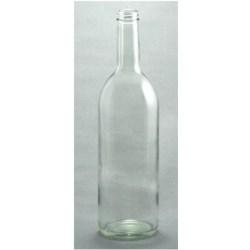 750 ml Glass Claret, Round, Flint, 28-400