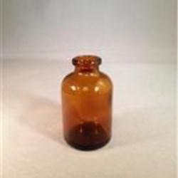30 ml Glass Type 1 Vial, Round, Amber, 20-2710