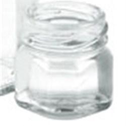 1 oz Glass Jar, Octagon, Flint, 38-2000 Twist-Off finish