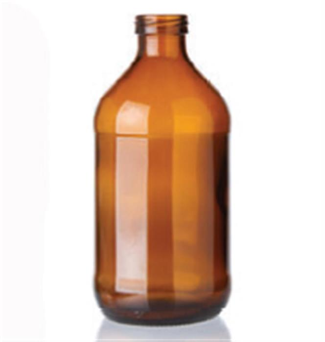 11 oz Glass Cylinder, Round, Flint, 26Crown finish Label Indent