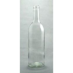 25 oz Glass Claret, Round, Flint, 28-405 Threaded finish