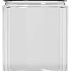 16 oz Glass Jar, Round, Flint, 83-400