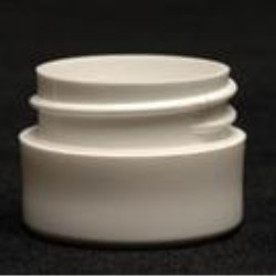 0.125 oz P/P Jar, Round, 33-400, Heavy Wall Straight Sided