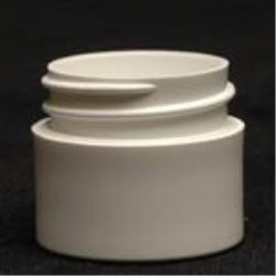 0.25 oz P/P Jar, Round, 33-400, Heavy Wall Straight Sided