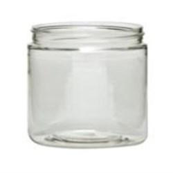 0.5 oz PET 100%PCR Jar, Round, 33-400,