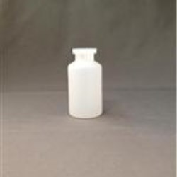 15 ml HDPE Vial, Round, 20Crimp, Flamed