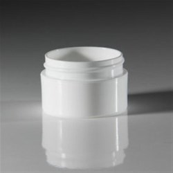 0.5 oz P/S Outer P/P Inner Jar, Round, 48-400, Straight Base