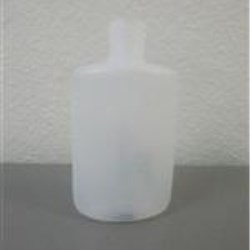 0.75 oz HDPE Straight Sided, Oval, 13-415, Short