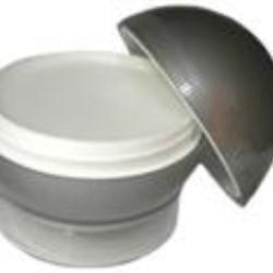 60 ml P/P Jar, White In Round, 56.2Special ,