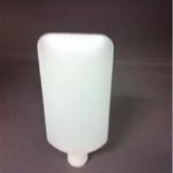 50 cc HDPE Tottle/Tube Bottle, Oval, 18-415, ,