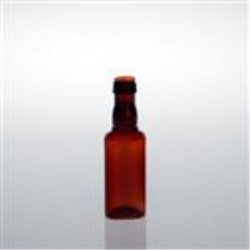 50 ml PET Long Neck, Round, 18-18Ropp, Sharp Shoulder ,