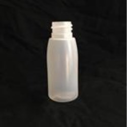 30 ml HDPE Bullet, Round, 20-410,