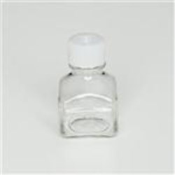 30 ml PETG Straight Sided, Square, 20-415, Non-Sterile W/Cap Attached ,