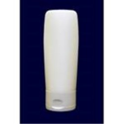 50 ml MDPE Tottle/Tube Bottle, Oval, 22-400, Flamed