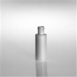2 oz HDPE Cylinder, Round, 22-415, Sharp Shoulder