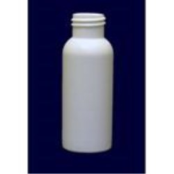 2 oz HDPE Bullet, Round, 24-410, Flamed ,