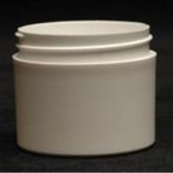 2 oz P/P Jar, Round, 53-400, Thick Wall Straight Base