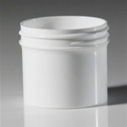 2 oz P/P Jar, Round, 53-400, Straight Base Straight Sided