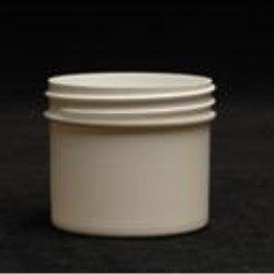 2 oz P/P Jar, Round, 53-400, Regular Wall Straight Base