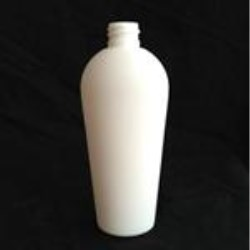 125 ml HDPE Soft Touch Reverse Tapered, Oval, 20-410, Flamed