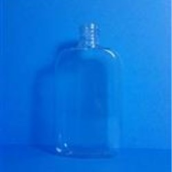 4 oz PVC Straight Sided, Oval, 20-400,