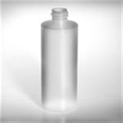 4 oz HDPE Cylinder, Round, 20-410, Sharp Shoulder