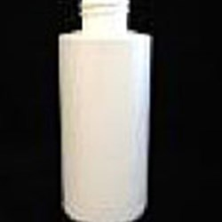 4 oz HDPE Cylinder, Round, 24-410, Straight Sided