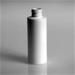 4 oz LDPE Cylinder, Round, 24-410, Sharp Shoulder