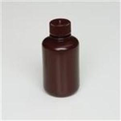 125 ml HDPE Boston Round, Round, 24-415, W/ Cap Attached ,