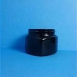 4 oz PVC Jar, Triangle, 58-400,
