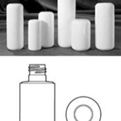 6 oz HDPE Cylinder, Round, 22-415, ,
