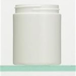 6 oz HDPE Jar, Round, 58-400, Straight Sided