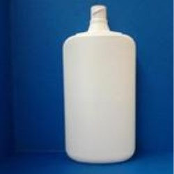 8 oz HDPE Straight Sided, Oval, 18mm ,