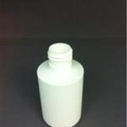 8 oz HDPE Cylinder, Round, 22-415, Footed