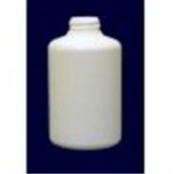 8 oz HDPE Cylinder, Round, 28-400, ,
