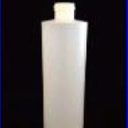 8 oz HDPE Cylinder, Round, 38-400, Straight Sided