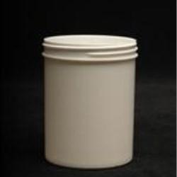 8 oz P/P Jar, Round, 70-400, Regular Wall Straight Base