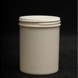 8 oz P/P Jar, Round, 70-400, Regular Wall Straight Sided